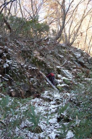 三階滝からの登り11