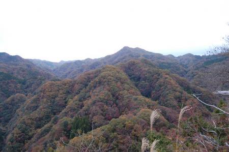 烏帽子岩から中武生山