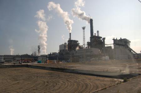 日本製紙工場