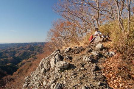 篭岩山展望台19