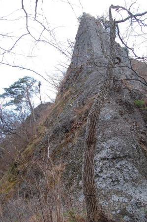 Ⅲ峰の岩壁18