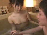 葵つかさ 凛とした美少女が筆おろしをしてくれるお風呂屋さん