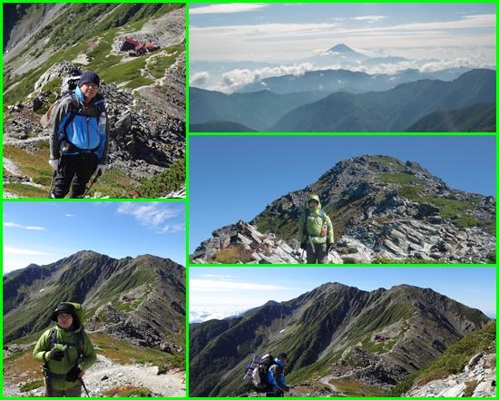 029 北岳山荘前