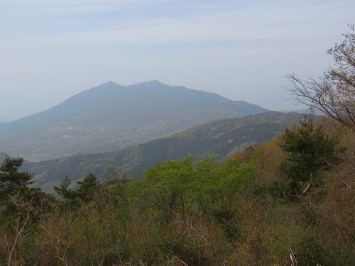 宝篋山から筑波山