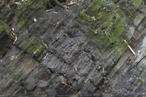 日本最古の地層