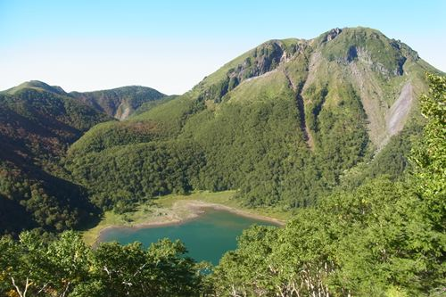 白根山と五色沼