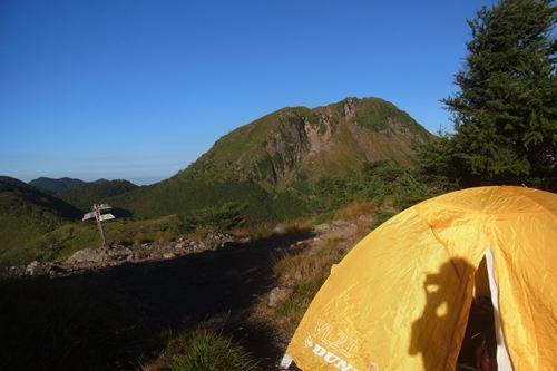 朝の白根山
