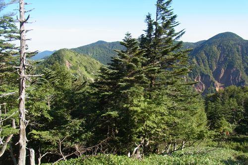 金精山と温泉ヶ岳