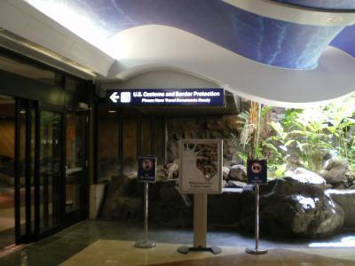 ハワイ2012.7入国審査前