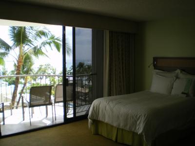 ハワイ2012.7マリオットホテル室内
