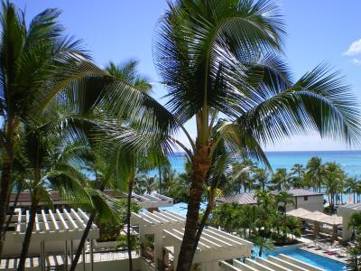 ハワイ2012.7ホテルからの眺望①
