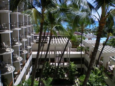 ハワイ2012.7ホテルからの眺望②