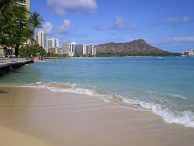ハワイ2012.7ワイキキビーチ