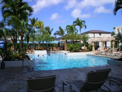 ハワイ2012.7マリオットプール