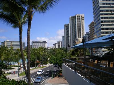 ハワイ2012.7マリオットテラス