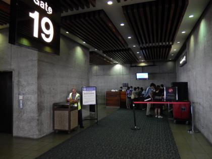 ハワイ2013.7ホノルル空港フライトゲート