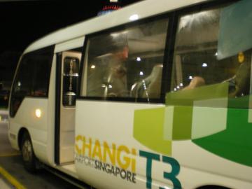 SIN2012.2チャンギ空港シャトルバス