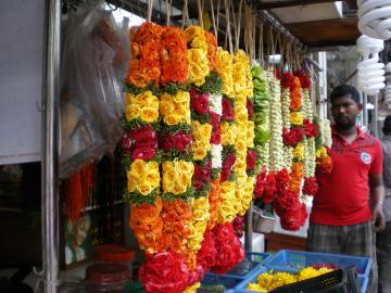 リトルインディア供花