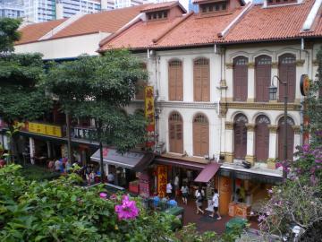 チャイナタウン風景
