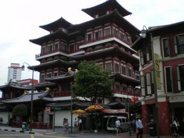 チャインタウン仏歯寺