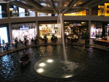 マリーナベイサンズ噴水2