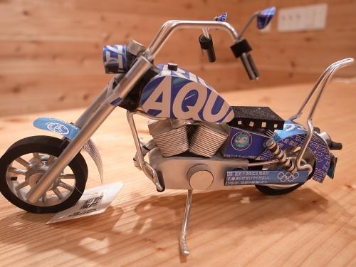 空き缶バイク
