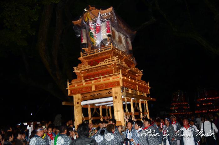 西条祭り 吉原三本松だんじり(屋台・楽車) 伊曽乃神社祭礼 宮出し