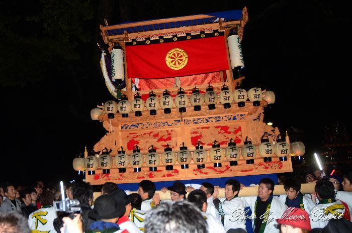 西条祭り 下町中だんじり(屋台・楽車) 伊曽乃神社祭礼 宮出し