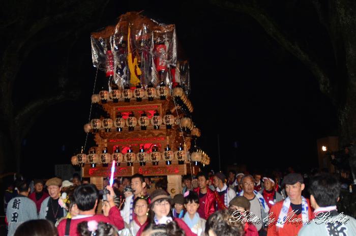 西条祭り2011 新田だんじり(屋台・楽車) 伊曽乃神社祭礼 宮出し 2011年10月15日