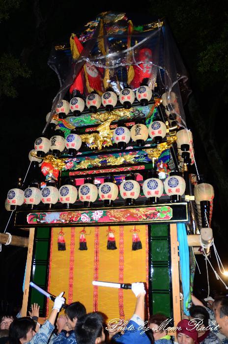 西条祭り2011 天皇だんじり(屋台・楽車) 伊曽乃神社祭礼 宮出し 2011年10月15日