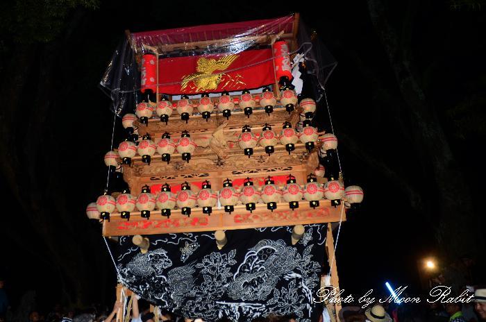西条祭り 北之町上組だんじり(屋台・楽車) 伊曽乃神社祭礼 宮出し