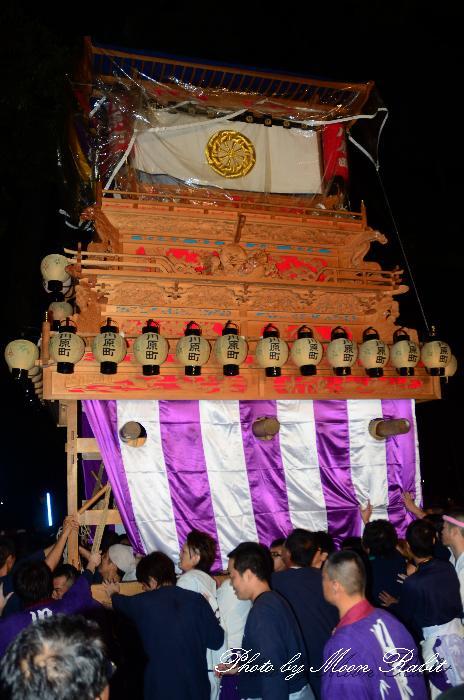 西条祭り 川原町だんじり(屋台・楽車) 伊曽乃神社祭礼 宮出し