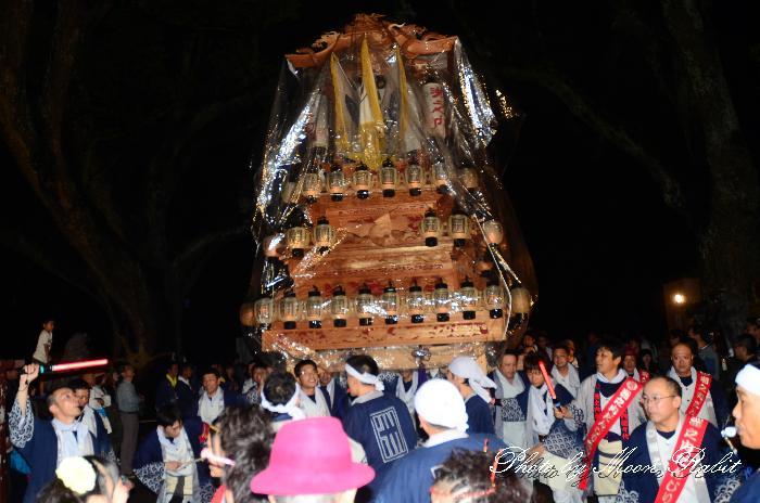 西条祭り2011 洲之内だんじり(洲の内屋台・楽車) 伊曽乃神社祭礼 宮出し 2011年10月15日