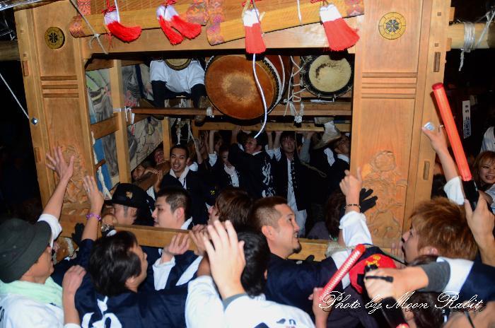 西条祭り2011 東町だんじり(屋台・楽車) 伊曽乃神社祭礼 宮出し 2011年10月15日