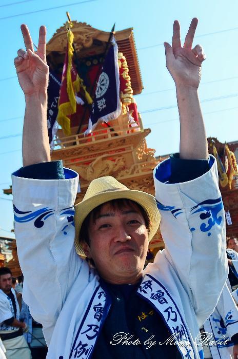 西条祭り2011 御殿前 八丁だんじり(屋台・楽車) 伊曽乃神社祭礼 2011年10月16日
