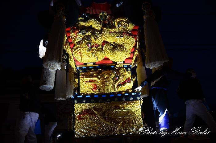 昭和通り夜太鼓 西町太鼓台 新居浜太鼓祭り2011 愛媛県新居浜市