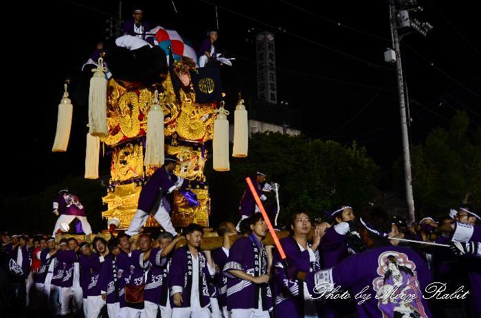 天神浜かき比べ 白浜太鼓台 新居浜太鼓祭り2011