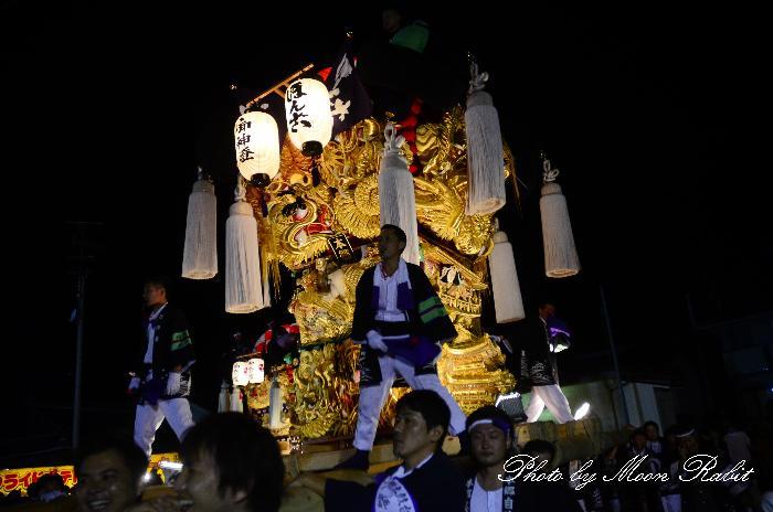 山端広場かき比べ 垣生本郷太鼓台 新居浜太鼓祭り2011