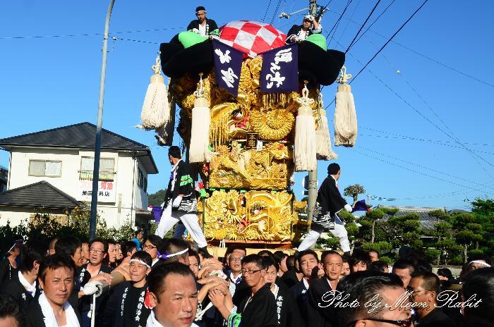 八幡神社かき比べ 新居浜太鼓祭り2011 垣生本郷太鼓台