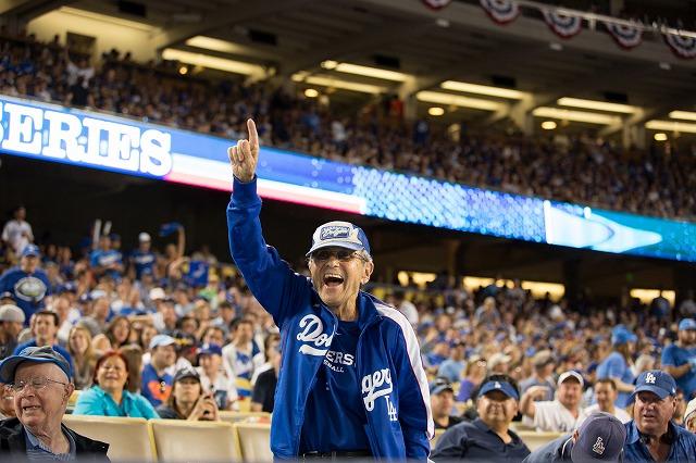 Dodgers fan 20142