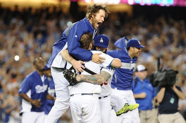 Dodgers 2014年西地区優勝