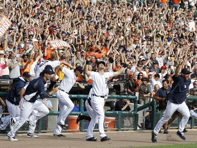 Tigers 2014年プレーオフ進出