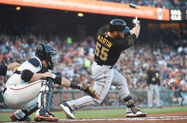 Russell martin 2014年プレーオフ