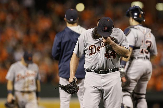 Tigers 2014年ALDS敗退2