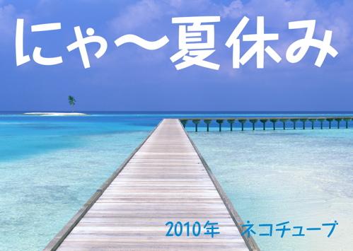 にゃ~夏休み1