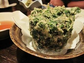 cilantro tempura