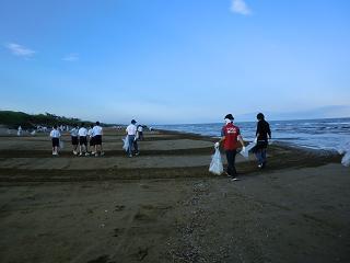 千里浜20110710-2