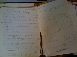 山田先生の経済学講義ノート中