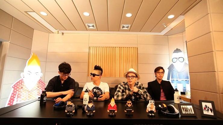 Seungri TOP Taeyang GD