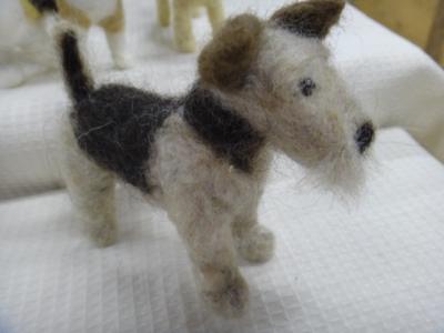 羊毛ワンコ